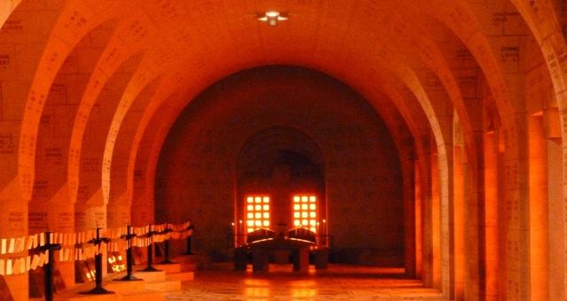 Beinhaus von Douaumont bei Verdun
