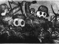 Otto Dix 'Sturmtruppe geht unter Gas vor'