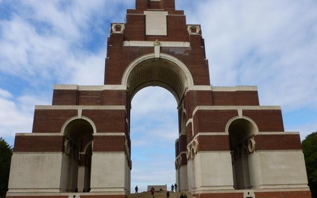 Thiepval-Denkmal für die Vermissten an der Somme