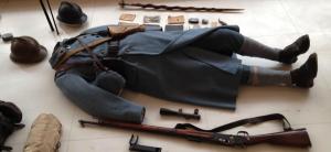 """Historial de la Grande Guerre – Ausrüstung eines """"Poilu"""", eines französischen Soldaten"""