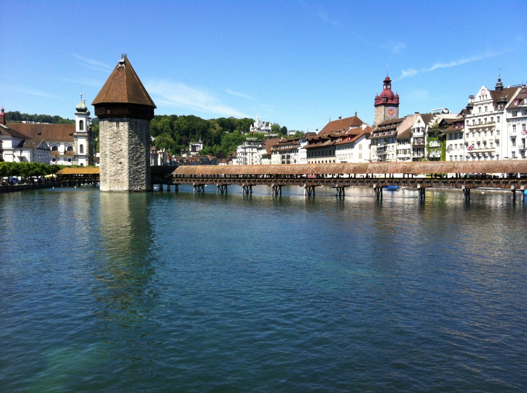 Wasserturm und Kappelbrücke